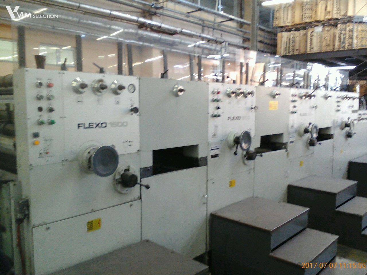 BOBST FLEXO 160 4 COLOURS